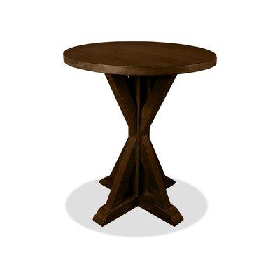 Sydney Pub Table Color: Dry Cognac, Size: 42 H x 48 L x 48 W