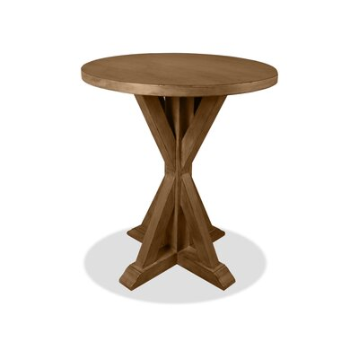 Sydney Pub Table Finish: Dry Smoke, Size: 42 H x 48 L x 48 W