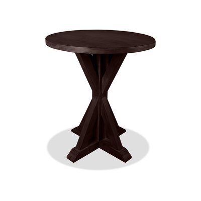 Sydney Pub Table Color: Dry Walnut, Size: 42 H x 42 L x 42 W