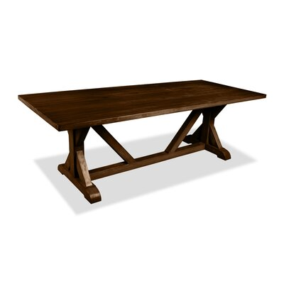 Sydney Dining Table 96 Finish: Cognac