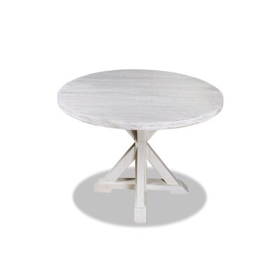 Sydney Dining Table 48 Finish: Dry White