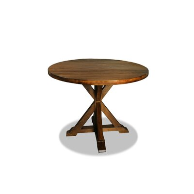 Sydney Dining Table 48 Finish: Dry Cognac