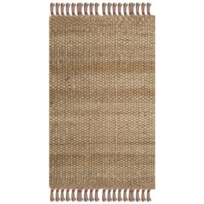 Muriel Hand Woven Brown Area Rug Rug Size: Rectangle 26 x 4