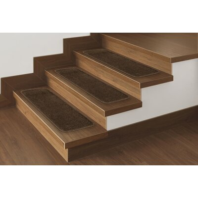 Carreras Pile Stair Treads Color: Brown