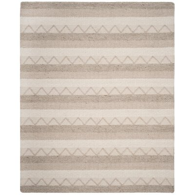 Billie Hand-Tufted Beige Area Rug Rug Size: Rectangle 8 x 10