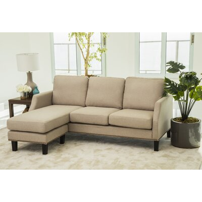 Edenburg Reversible Sectional Upholstery: Beige