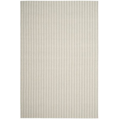 Lleyton Hand Tufted Gray Area Rug Rug Size: 5 x 8