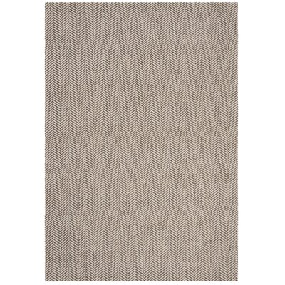 Lleyton Hand Tufted Gray Area Rug Rug Size: 4 x 6