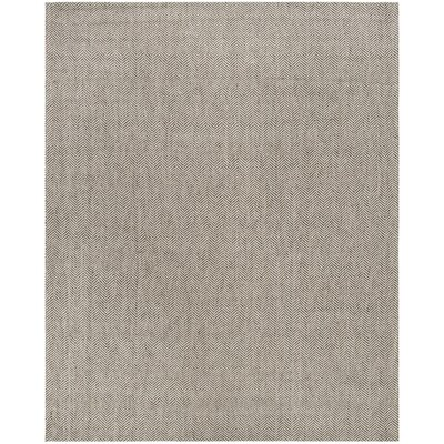 Lleyton Hand Tufted Gray Area Rug Rug Size: 8 x 10