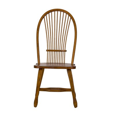 Holsworthy Side Chair (Set of 2) Finish: Oak