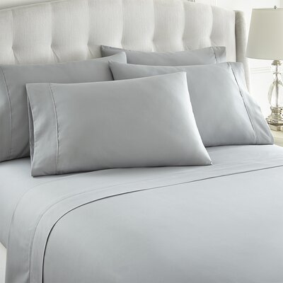 Grandin 1000 Thread Count Sheet Set Size: King, Color: Gray