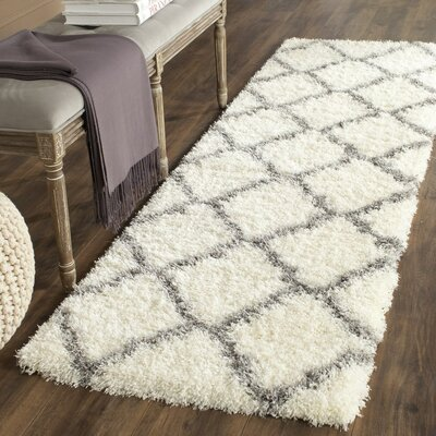 Macungie Gray Indoor Area Rug Rug Size: Runner 23 x 5