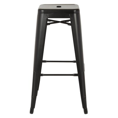 Isabel 30 Bar Stool Finish: Matte Black