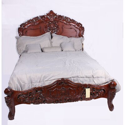 Panel Bed Size: Queen