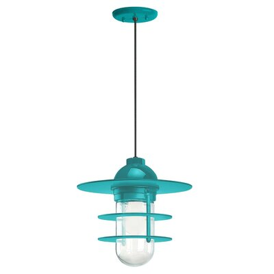 1-Light Pendant Finish: Tahitian Teal