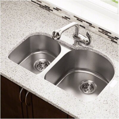 31.25 x 20 Undermount Stainless Steel Kitchen Sink
