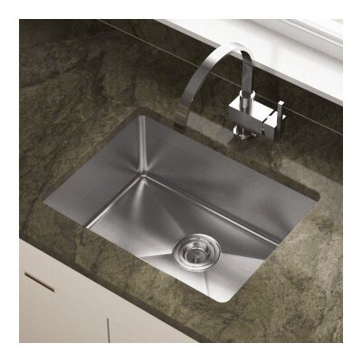 23 x 17.88 Single Undermount Kitchen Sink