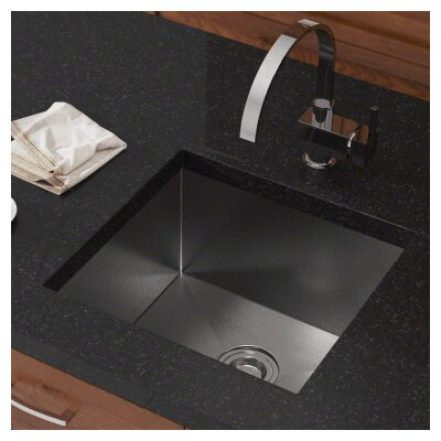 20 x 19 Single Undermount Kitchen Sink