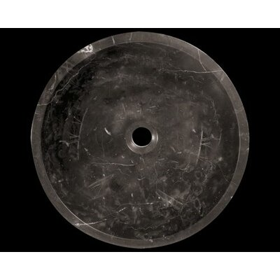 Marble Circular Vessel Bathroom Sink