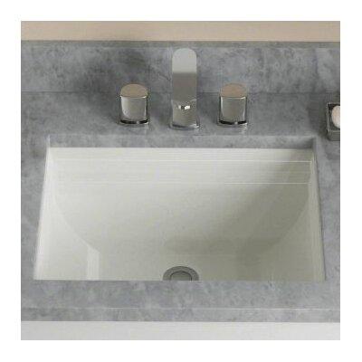 Rectangular Undermount Bathroom Sink Sink Finish: Bisque
