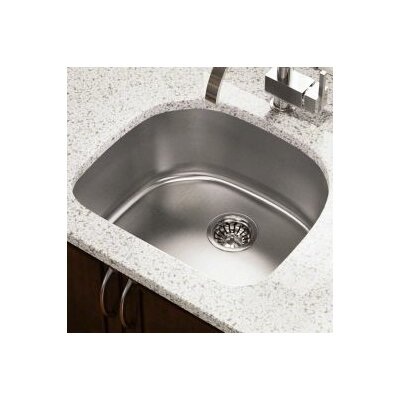 23.75 x 21.13 Single Undermount Kitchen Sink