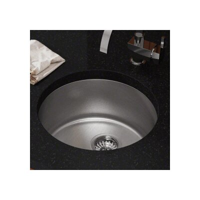 18.25 x 18.25 Single Undermount Bar Sink