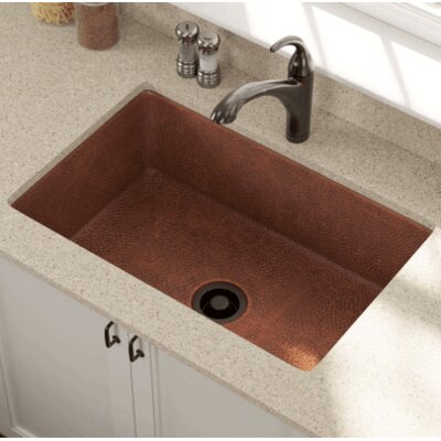 33 x 22 Single Bowl Undermount Kitchen Sink