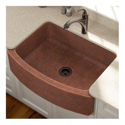 33.25 x 24.75 Single Farmhouse Kitchen Sink