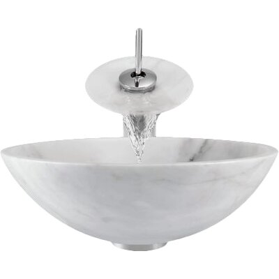 Granite Circular Vessel Bathroom Sink