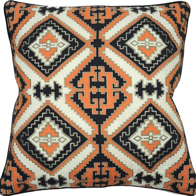 Empire Cotton Throw Pillow