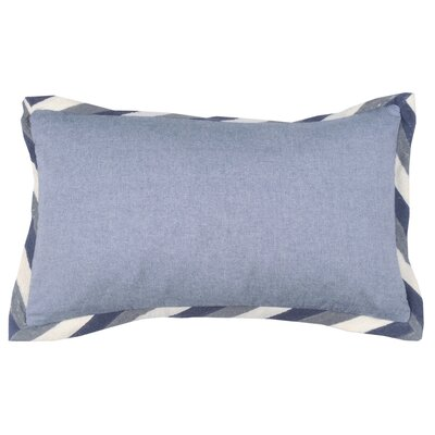 Crewel Border 100% Cotton Lumbar Pillow Color: Peacock