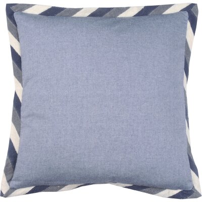 Crewel Border 100% Cotton Throw Pillow Color: Peacock