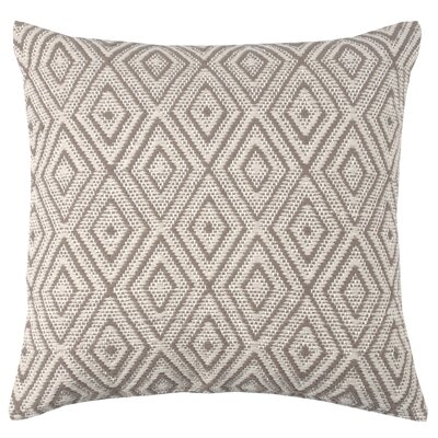Tangier 100% Cotton Throw Pillow Color: Morel/Stone