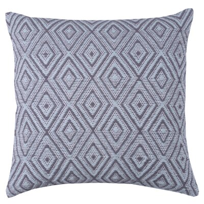 Tangier 100% Cotton Throw Pillow Color: Pewter/Stone