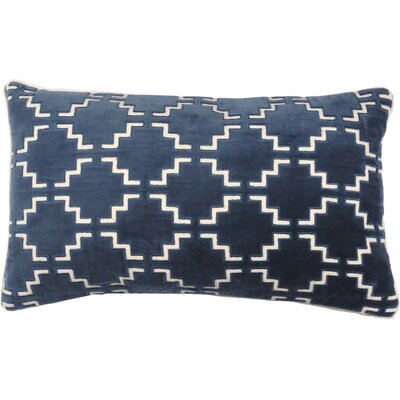 Pavilion Lumbar Pillow Color: Peacock