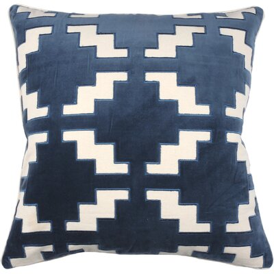Pavilion Throw Pillow Color: Peacock