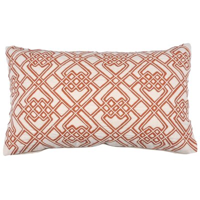 Dori and Tape Lumbar Pillow Color: Burnt Orange
