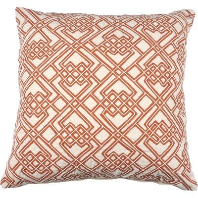 Dori and Tape Throw Pillow Color: Burnt Orange