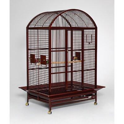 Grande Dome Top Bird Cage Color: Ruby