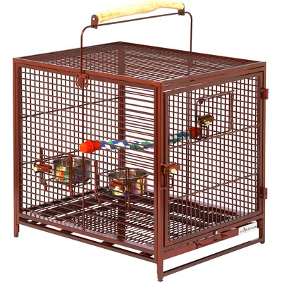 Poquito Avian Hotel  Bird Cage Color: Ruby