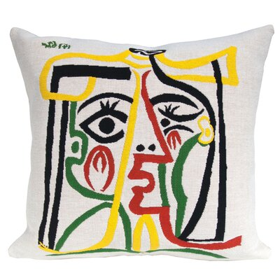 Head of a Woman 1962 Throw Pillow