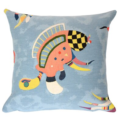 Bleu de Ciel Extrait 1  Throw Pillow