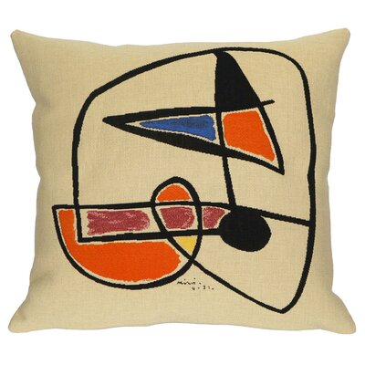 Tete Homme III 1931 Throw Pillow