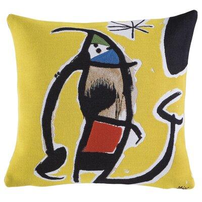 Femme, Oiseau Etoile 1978 Throw Pillow