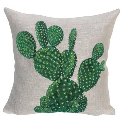 Polaskia Classic Throw Pillow Color: Beige