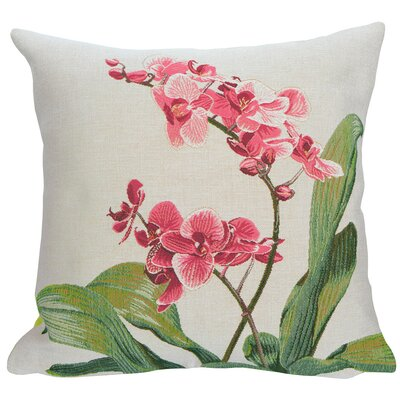 Nouvelle Orchidee Classic Throw Pillow