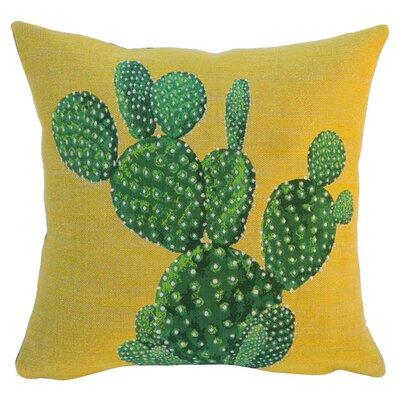 Polaskia Classic Throw Pillow Color: Yellow