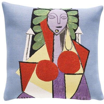 Femme dans un Fauteuil 1946Throw Pillow
