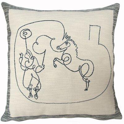 Cheval Et Dresseur  Throw Pillow