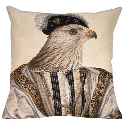 Francois Classic Throw Pillow Color: Beige